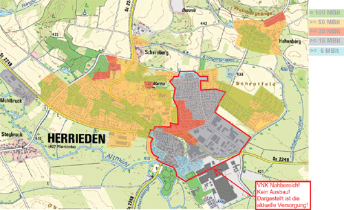 Ausbauplan Deutsche Telekom