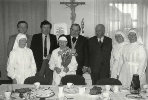 Die Verabschiedung von Schwester M. Brionda