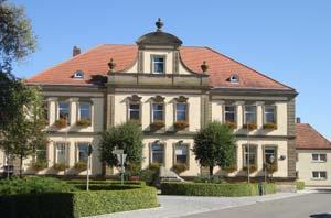 Das Herrieder Rathaus