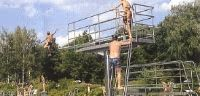Der 3-Meter-Sprungturm