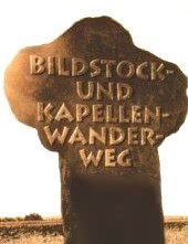 Bildstock- und Kapellen-Wanderweg