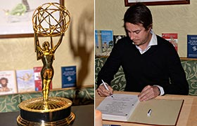 Matthias Bittner erhielt Internationalen Emmy Award in New York