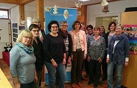 Büchereileiterinnen des Landkreis Ansbach tagen in Herrieden