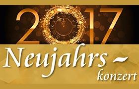 """Neujahrskonzert 2017 """"Gold und Silber"""""""
