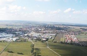 Bayern von oben - Herrieden