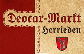 Kulturwochenende Deocar-Markt Herrieden