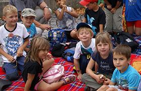 Ferienbetreuung für Kindergarten- und Grundschulkinder