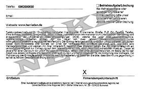 Unseriöse Fax-Nachrichten in Umlauf
