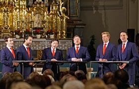 Das musikalische Highlight 2017 - die King's Singers waren zu Gast in Herrieden im Rahmen der Stiftsbasilika-Konzertreihe