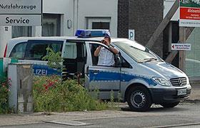 Überwachung des fließenden Verkehrs im Gemeindegebiet Herrieden