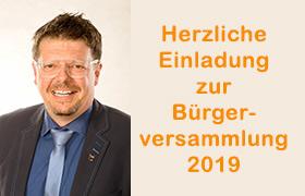Bekanntmachung Bürgerversammlung Oberschönbronn
