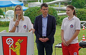 Jubiläum 50 Jahre Parkbad Herrieden und der Wasserwacht Herrieden