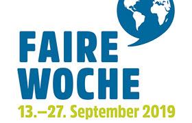 Beteiligung an der deutschlandweiten Fairen Woche 13.-27.09.19