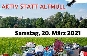 Einladung zur Müllsammelaktion