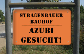 Ausbildungsplatz im Straßenbauerhandwerk / Spezialisierung Bauhof
