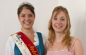 Aus Annemarie wird Anna-Maria - neue Apfelkönigin gekürt