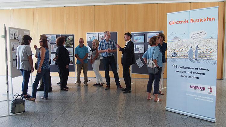 Foto von der Ausstellungseröffnung