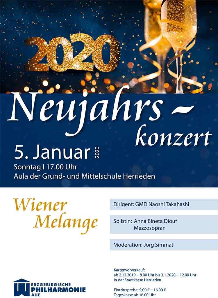 Neujahrskonzert Erzgebirge Aue