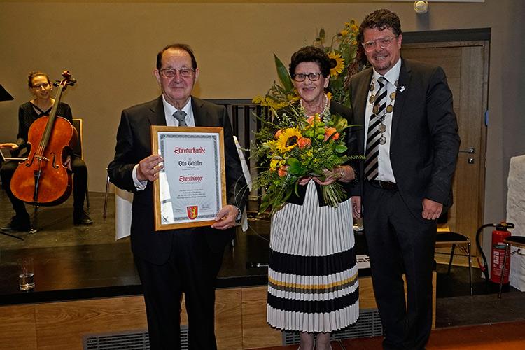 Ehrenbürger Otto Schüller