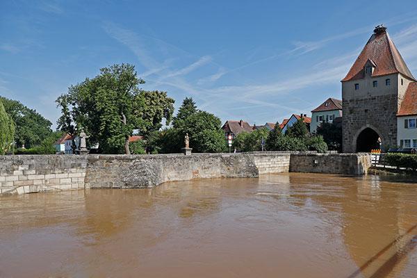 Günther Holzinger Hochwasser Altmühlbrücke