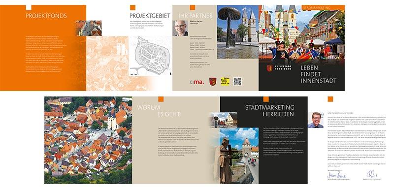 Stadtmarketing-Flyer
