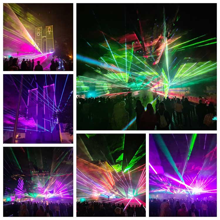 Herrieder Lasershow